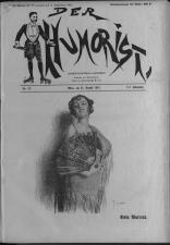 Der Humorist 19220825 Seite: 1