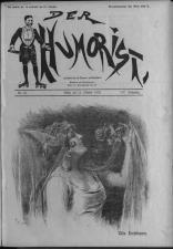 Der Humorist 19221012 Seite: 1