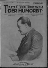 Der Humorist 19260904 Seite: 1