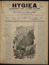 Cur- und Bade-Zeitung. Hygiea