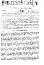 Innsbrucker Nachrichten 18791021 Seite: 1
