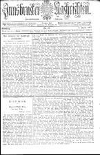 Innsbrucker Nachrichten 19070406 Seite: 1