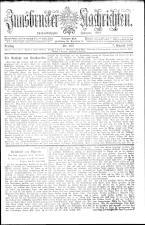 Innsbrucker Nachrichten 19080807 Seite: 1