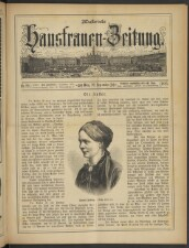 Illustrierte Hausfrauen-Zeitung