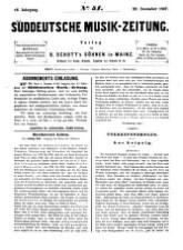 Süddeutsche Musik-Zeitung