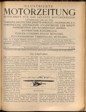 Illustrierte Motorzeitung