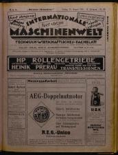 Oesterreich-ungarische Maschinenwelt