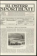 Illustriertes (Österreichisches) Sportblatt 19130301 Seite: 3