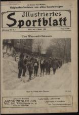 Illustriertes (Österreichisches) Sportblatt