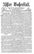 Ischler Wochenblatt 18760206 Seite: 1