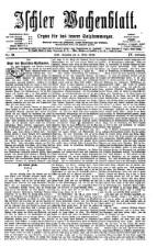 Ischler Wochenblatt 18760305 Seite: 1