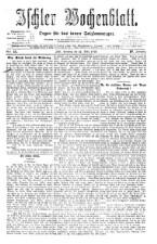 Ischler Wochenblatt 18760312 Seite: 1