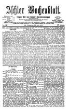 Ischler Wochenblatt 18760423 Seite: 1