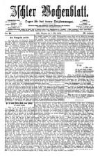 Ischler Wochenblatt 18760507 Seite: 1