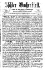 Ischler Wochenblatt 18760618 Seite: 1