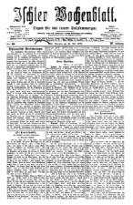 Ischler Wochenblatt 18760716 Seite: 1