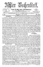 Ischler Wochenblatt 18760730 Seite: 1