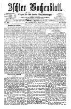 Ischler Wochenblatt 18760813 Seite: 1
