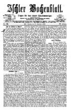 Ischler Wochenblatt 18760917 Seite: 1