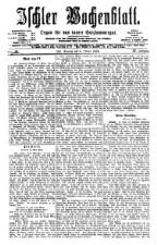 Ischler Wochenblatt 18761008 Seite: 1