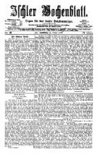 Ischler Wochenblatt 18761015 Seite: 1