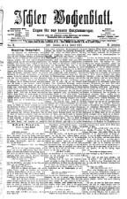 Ischler Wochenblatt 18770114 Seite: 1