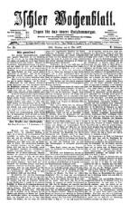 Ischler Wochenblatt 18770506 Seite: 1