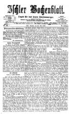Ischler Wochenblatt 18770527 Seite: 1