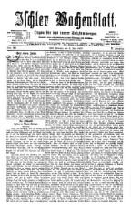 Ischler Wochenblatt 18770603 Seite: 1
