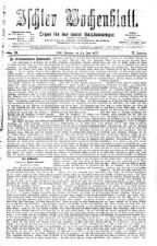 Ischler Wochenblatt 18770624 Seite: 1