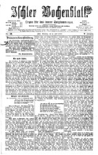 Ischler Wochenblatt 18770701 Seite: 1