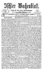 Ischler Wochenblatt 18770812 Seite: 1