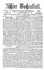 Ischler Wochenblatt 18771223 Seite: 1