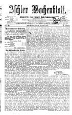 Ischler Wochenblatt 18771230 Seite: 1