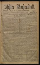 Ischler Wochenblatt 18780224 Seite: 1