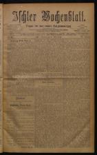Ischler Wochenblatt 18780317 Seite: 1