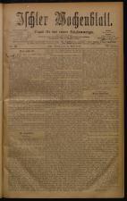 Ischler Wochenblatt 18780421 Seite: 1
