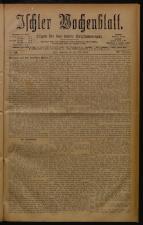 Ischler Wochenblatt 18780519 Seite: 1