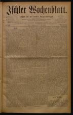 Ischler Wochenblatt 18780707 Seite: 1