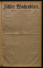 Ischler Wochenblatt 18780825 Seite: 1