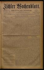 Ischler Wochenblatt 18780915 Seite: 1
