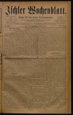 Ischler Wochenblatt 18781124 Seite: 1