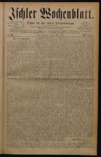 Ischler Wochenblatt 18790720 Seite: 1