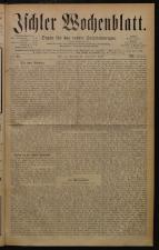 Ischler Wochenblatt 18790921 Seite: 1