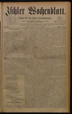 Ischler Wochenblatt 18800711 Seite: 1