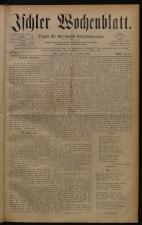 Ischler Wochenblatt 18800801 Seite: 1