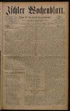 Ischler Wochenblatt 18800808 Seite: 1