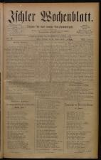 Ischler Wochenblatt 18800822 Seite: 1