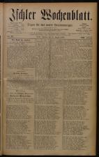 Ischler Wochenblatt 18800829 Seite: 1