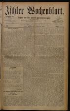 Ischler Wochenblatt 18800905 Seite: 1